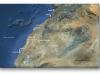 carte du Sahara Occidental avec les principales villes